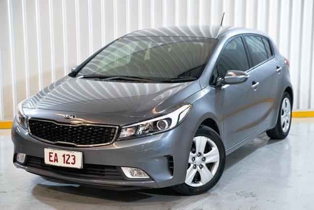 Used Kia Cerato BD MY19 S Hendra, 2018 Kia Cerato BD MY19 S Silver 6 Speed Sports Automatic Hatchback