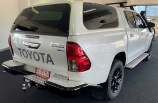 2015 Toyota Hilux GUN126R SR5 Double Cab White 6 Speed Manual Utility.