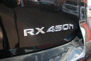2012 Lexus RX GYL15R MY12 RX450h Sports Luxury Starlight Black 6 Speed Constant Variable Wagon