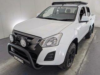 2016 Isuzu D-MAX MY17 SX Crew Cab White 6 Speed Sports Automatic Utility.
