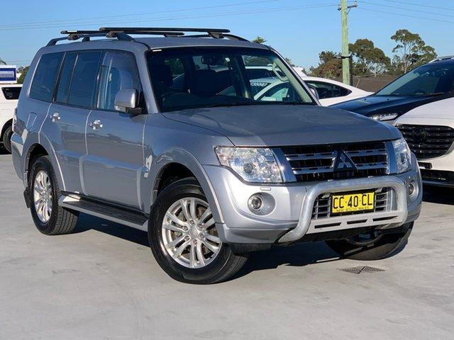 Used Mitsubishi Pajero NW MY14 VR-X Liverpool, 2014 Mitsubishi Pajero NW MY14 VR-X Silver 5 Speed Sports Automatic Wagon