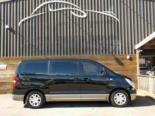 2014 Hyundai iMAX TQ-W MY15 Black 4 Speed Automatic Wagon.