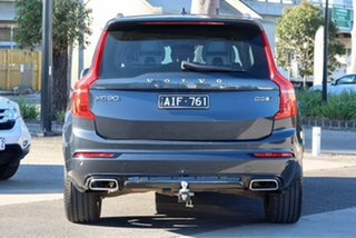 2016 Volvo XC90 L Series MY16 D5 Geartronic AWD R-Design Grey 8 Speed Sports Automatic Wagon