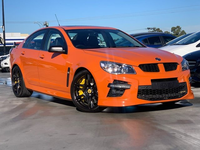Used Holden Special Vehicles GTS Gen-F MY15 Liverpool, 2014 Holden Special Vehicles GTS Gen-F MY15 Orange 6 Speed Sports Automatic Sedan