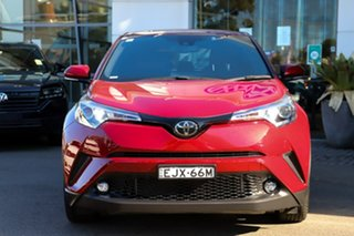 2019 Toyota C-HR NGX10R S-CVT 2WD Red 7 Speed Constant Variable Wagon