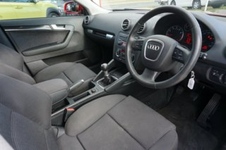 2006 Audi A3 8P Attraction Red 5 Speed Manual Hatchback