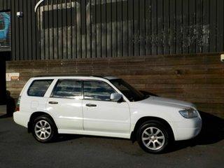 2005 Subaru Forester 79V MY06 XS AWD Luxury White 4 Speed Automatic Wagon.