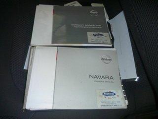 2007 Nissan Navara D40 ST-X Silver 6 Speed Manual Utility.