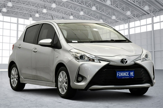 Used Toyota Yaris NCP131R ZR Victoria Park, 2017 Toyota Yaris NCP131R ZR Silver 4 Speed Automatic Hatchback