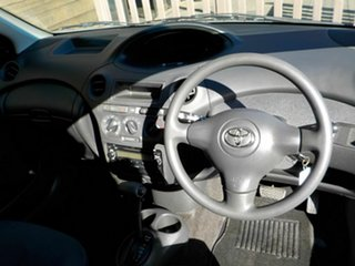 2004 Toyota Echo NCP10R MY03 Silver 4 Speed Automatic Hatchback