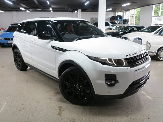 Used Land Rover Range Rover Evoque L538 MY15 Dynamic Albion, 2014 Land Rover Range Rover Evoque L538 MY15 Dynamic White 9 Speed Sports Automatic Wagon