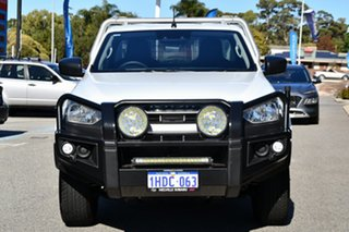 2020 Isuzu D-MAX RG MY21 SX 4x2 High Ride White 6 Speed Sports Automatic Cab Chassis