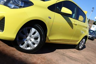 2015 Toyota Yaris NCP130R MY15 Ascent Yellow 4 Speed Automatic Hatchback.