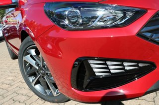 2021 Hyundai i30 PD.V4 MY21 Active Fiery Red 6 Speed Automatic Hatchback.