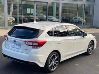 2017 Subaru Impreza G5 MY17 2.0i Premium CVT AWD Crystal White 7 Speed Constant Variable Hatchback.