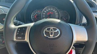 2013 Toyota Yaris NCP130R YR Magnetic Grey 4 Speed Automatic Hatchback