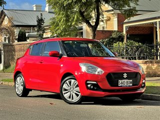 2018 Suzuki Swift AZ GL Navigator Red 1 Speed Constant Variable Hatchback.