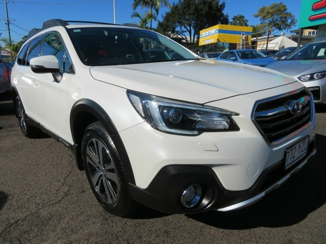 Used Subaru Outback B6A MY19 2.5i CVT AWD Premium Mount Gravatt, 2019 Subaru Outback B6A MY19 2.5i CVT AWD Premium White 7 Speed Constant Variable Wagon