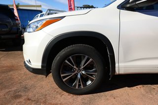 2016 Toyota Kluger GSU55R GXL (4x4) White 6 Speed Automatic Wagon.
