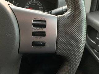 2015 Nissan Navara D40 Series 8 RX White Automatic Utility