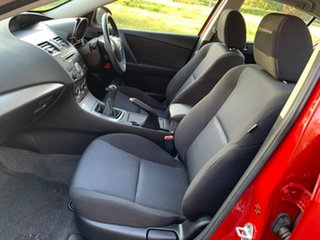 2010 Mazda 3 BL Series 1 Maxx Sport Red Manual Sedan