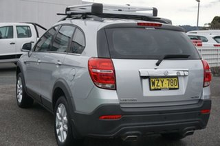 2016 Holden Captiva CG MY16 Active 2WD Silver 6 Speed Sports Automatic Wagon