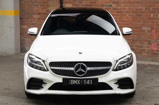 2021 Mercedes-Benz C-Class W205 801MY C200 9G-Tronic Polar White 9 Speed Sports Automatic Sedan