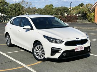 2019 Kia Cerato BD MY19 SI White 6 Speed Sports Automatic Hatchback.