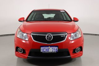 2013 Holden Cruze JH MY14 SRi Red 6 Speed Manual Hatchback.