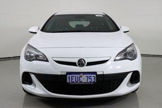 2015 Holden Astra PJ VXR White 6 Speed Manual Hatchback.