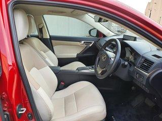 2018 Lexus CT ZWA10R CT200h Luxury Red 1 Speed Constant Variable Hatchback Hybrid