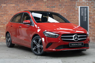 2019 Mercedes-Benz B-Class W247 B180 DCT Red 7 Speed Sports Automatic Dual Clutch Hatchback.
