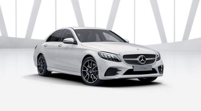 New Mercedes-Benz C-Class W205 801MY C300 9G-Tronic Berwick, 2021 Mercedes-Benz C-Class W205 801MY C300 9G-Tronic Polar White 9 Speed Sports Automatic Sedan