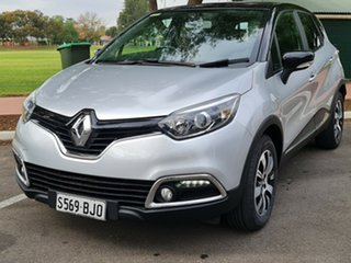 2015 Renault Captur J87 Expression EDC Silver 6 Speed Sports Automatic Dual Clutch Hatchback.