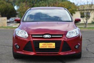 2011 Ford Focus LW Trend PwrShift Red 6 Speed Sports Automatic Dual Clutch Sedan.