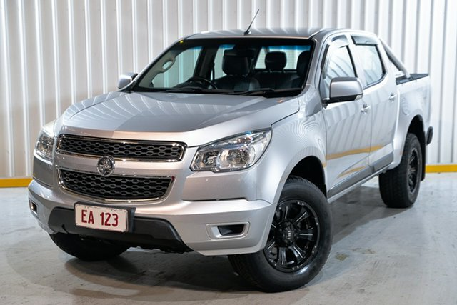 Used Holden Colorado RG MY15 LS Crew Cab Hendra, 2015 Holden Colorado RG MY15 LS Crew Cab Silver 6 Speed Sports Automatic Utility