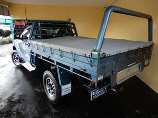2014 Mazda BT-50 MY13 XT Hi-Rider (4x2) Blue 6 Speed Manual Cab Chassis.