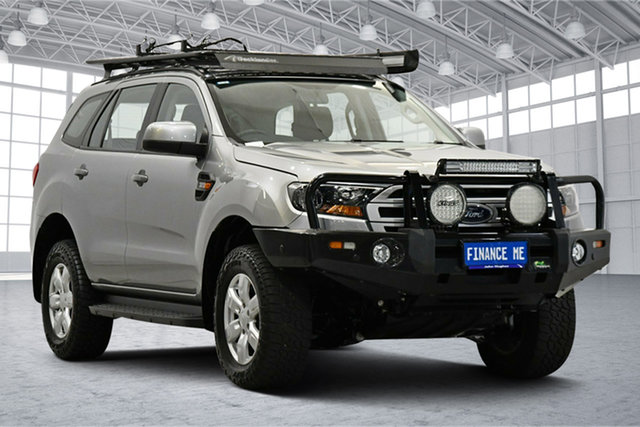 Used Ford Everest UA 2018.00MY Ambiente Victoria Park, 2017 Ford Everest UA 2018.00MY Ambiente Silver 6 Speed Sports Automatic SUV