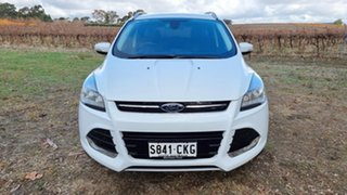 2013 Ford Kuga TF Trend PwrShift AWD White 6 Speed Sports Automatic Dual Clutch Wagon.