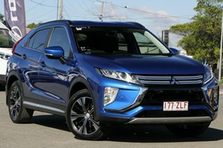 2018 Mitsubishi Eclipse Cross YA MY19 LS 2WD Lightning Blue 8 Speed Constant Variable Wagon.
