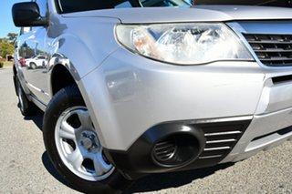 2009 Subaru Forester S3 MY10 X AWD Silver 4 Speed Sports Automatic Wagon.