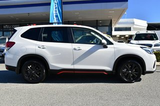 2020 Subaru Forester S5 MY21 2.5i Sport CVT AWD White 7 Speed Constant Variable Wagon