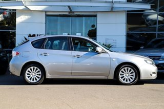 2008 Subaru Impreza G3 MY08 RX AWD Silver, Chrome 4 Speed Sports Automatic Hatchback.