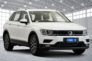 2018 Volkswagen Tiguan 5N MY18 110TSI DSG 2WD Comfortline Pure White 6 Speed.