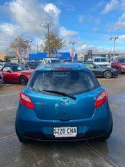 2011 Mazda 2 DE10Y1 MY11 Neo Blue 5 Speed Manual Hatchback