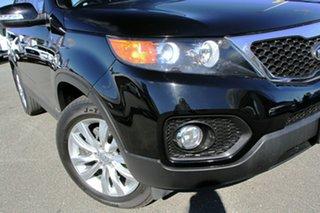 2012 Kia Sorento XM MY12 SLi Ebony 6 Speed Sports Automatic Wagon.