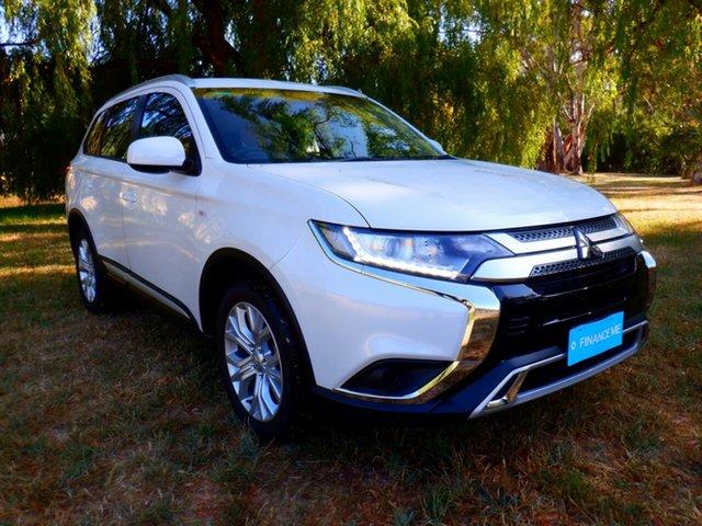 Demo Mitsubishi Outlander ZL MY21 ES 2WD Mount Barker, 2020 Mitsubishi Outlander ZL MY21 ES 2WD Starlight 6 Speed Constant Variable Wagon