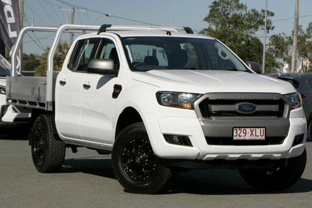 Used Ford Ranger PX MkII XLS Double Cab Rocklea, 2017 Ford Ranger PX MkII XLS Double Cab Cool White 6 Speed Sports Automatic Utility