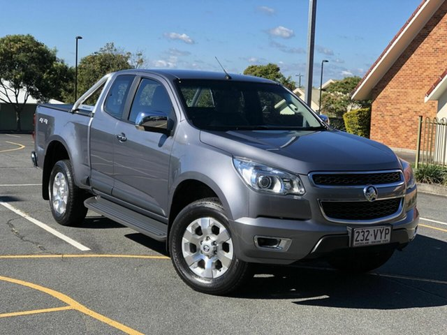 Used Holden Colorado RG MY16 LTZ Space Cab Chermside, 2015 Holden Colorado RG MY16 LTZ Space Cab Grey 6 Speed Sports Automatic Utility
