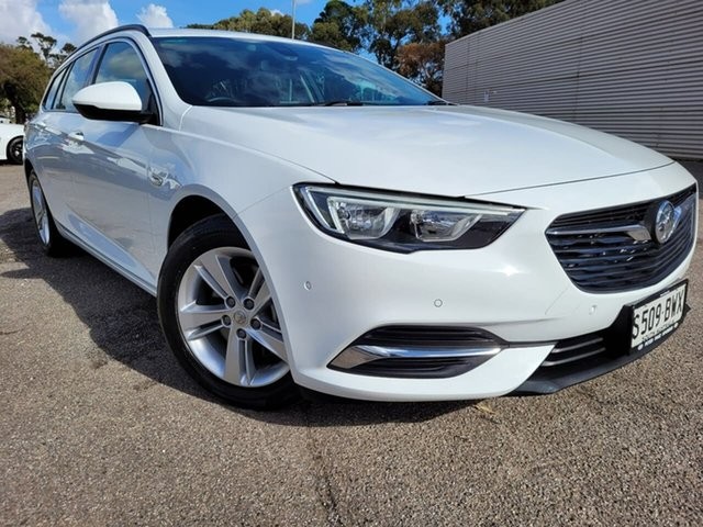 Used Holden Commodore ZB MY18 LT Sportwagon Elizabeth, 2018 Holden Commodore ZB MY18 LT Sportwagon White 9 Speed Sports Automatic Wagon